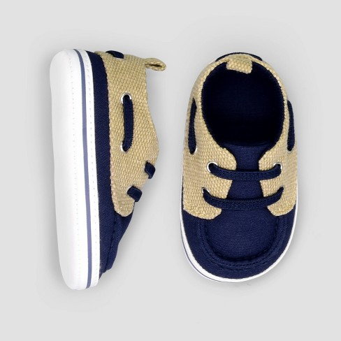 Baby Boys' Boat Shoes - Just One You® made by carter's Blue 3-6M - image 1 of 1