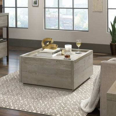 Manhattan Gate Coffee Table Distressed Gray - Sauder