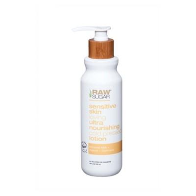 Raw Sugar Almond Milk + Agave + Oatmeal Sensitive Skin Body Lotion - 18 fl oz