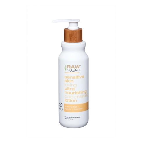 Raw Sugar Sensitive Skin Body Lotion - 18 fl oz - image 1 of 4
