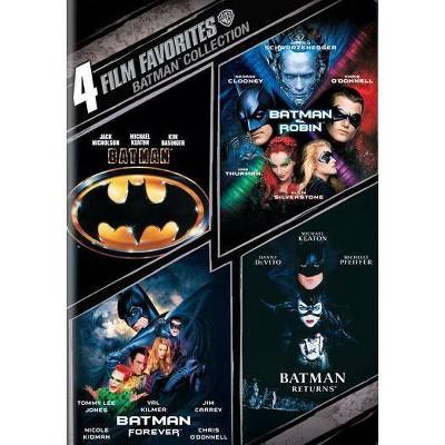 Batman Collection: 4 Film Favorites (DVD)