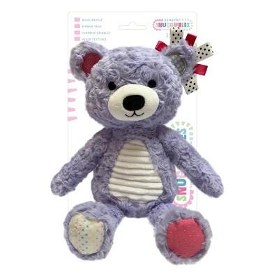 Make Believe Ideas Snuggables Medium Plush - Purple Bear