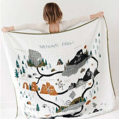 Clementine Kids National Baby Blanket - Parks