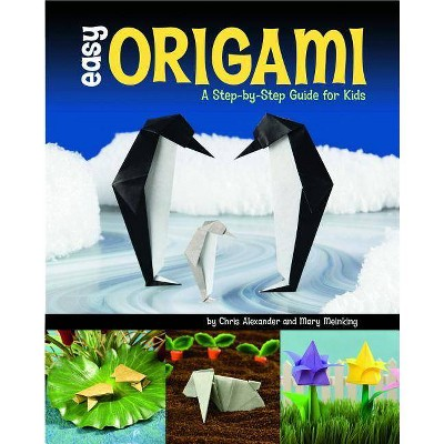 Easy Origami - by  Mary Meinking & Chris Alexander (Paperback)