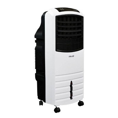 NewAir 2-in-1 Evaporative Cooler and Oscillating Fan 300 sq. ft. - White