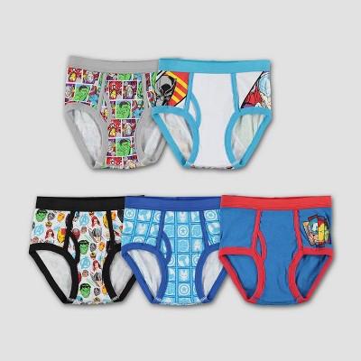Boys' Marvel Avengers 5pk Underwear