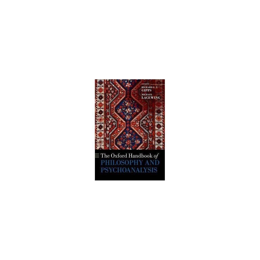 Oxford Handbook of Philosophy and Psychoanalysis - (Hardcover)