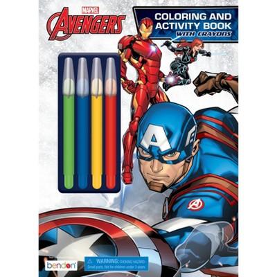 Avengers Coloring With Jumbo Twist Crayons