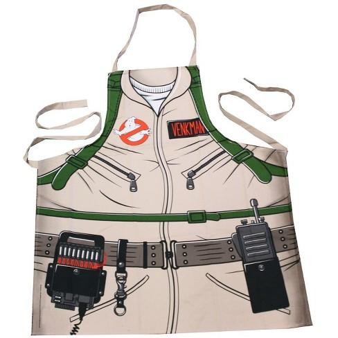 Cryptozoic Entertainment Ghostbusters Cooking Apron | Peter Venkman's Uniform Grill Apron | 100% Cotton - image 1 of 1