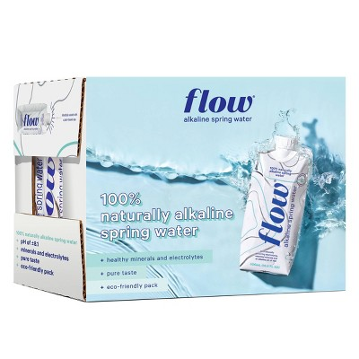 Flow Natural Alkaline Spring Water - 6pk/16.9 fl oz Bottles