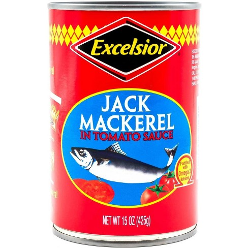 Excelsior Jack Mackeral in Tomato Sauce - 15oz - image 1 of 3