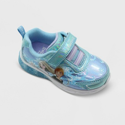 Toddler Girls' Frozen 2 Athletic Sneakers - Blue