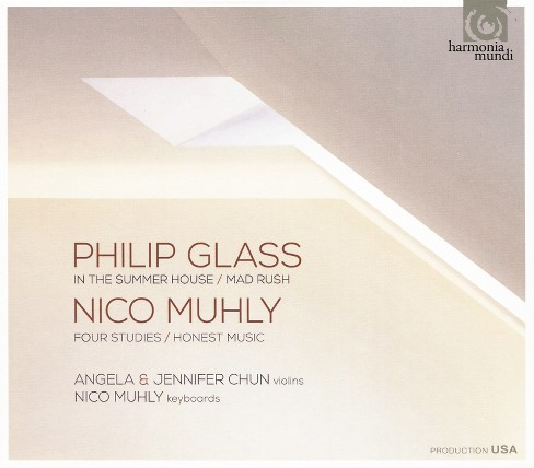 Angela chun - Glass/Muhly:In the summer house/Mad r (CD) - image 1 of 1