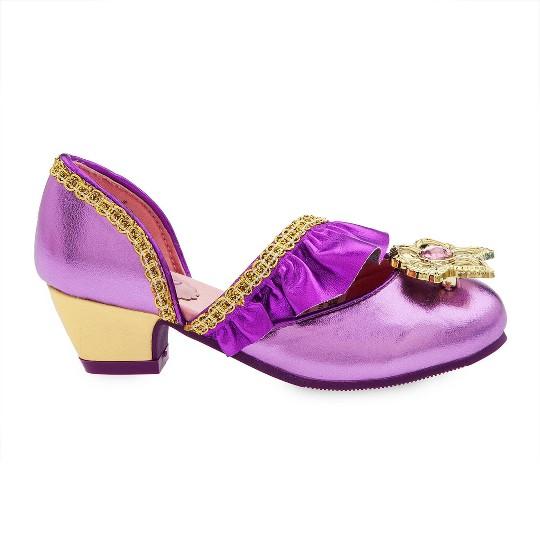 Disney Princess Rapunzel Kids' Dress-Up Shoes - Size 2-3- Disney store, Purple image number null