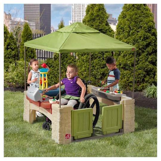 Step2 All Around Playtime Patio with Canopy image number null
