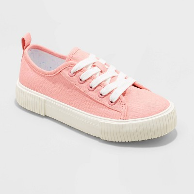 Girls' Pascale Lace-Up Apparel Sneakers - Cat & Jack™