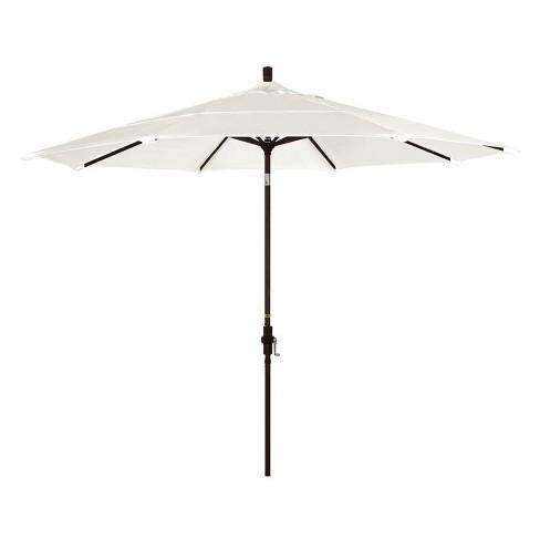 11' Patio Umbrella in Canvas - California Umbrella - image 1 of 2