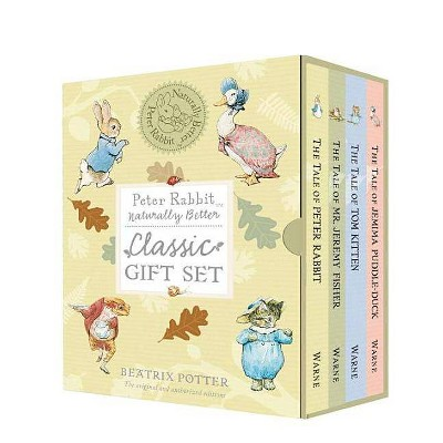 Peter Rabbit Naturally Better Classic Gift Set - by  Beatrix Potter (Mixed Media Product)