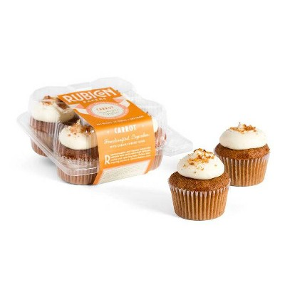 Rubicon Bakery Carrot Cupcakes - 10oz/4ct