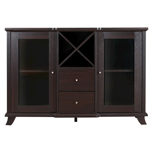 Antonette Transitional Multi-Storage Dining Buffet Cappuccino - HOMES: Inside + Out - image 1 of 4
