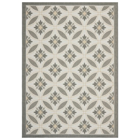 Angier Outdoor Rug - Light Gray / Anthracite - Safavieh® - image 1 of 1