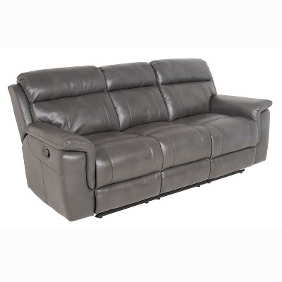 Dakota Recliner Sofa Gray - Steve Silver
