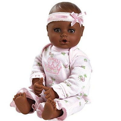 Adora PlayTime Baby Little Princess Vinyl 13 Girl Weighted Washable Cuddly Snuggle Soft Toy Play Doll Gift Set with Open/Close Eyes for Children 1+ Includes Bottle