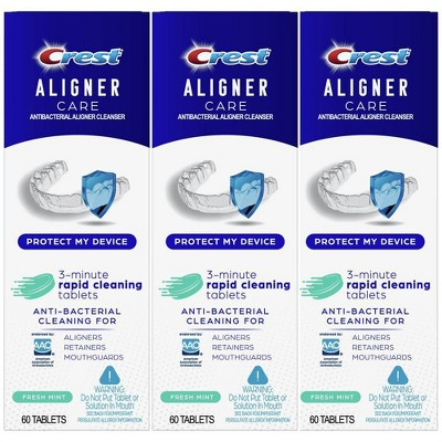 Crest Aligner Care Rapid Cleaning Tablets - 60ct/3pk