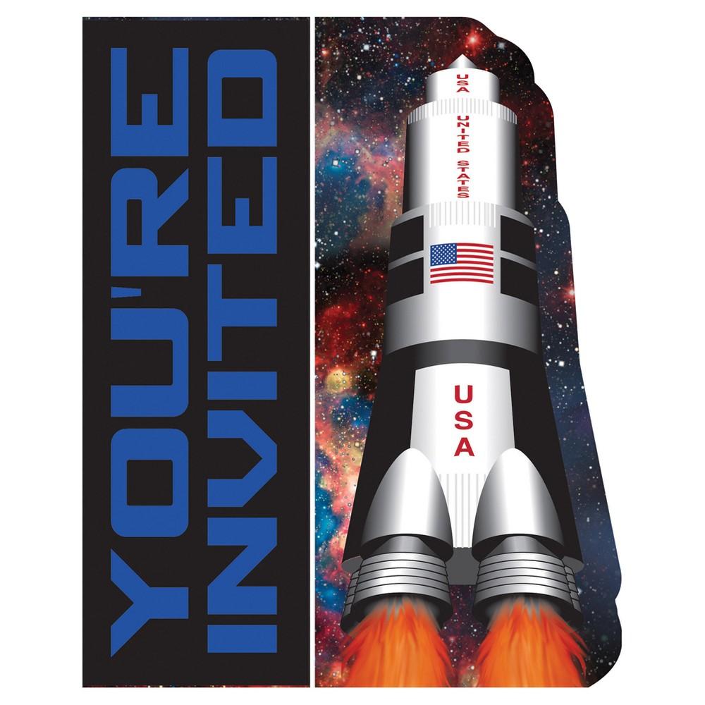 8ct Space Blast Invitations