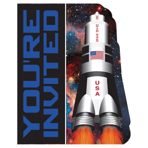 8ct Space Blast Invitations - image 1 of 2