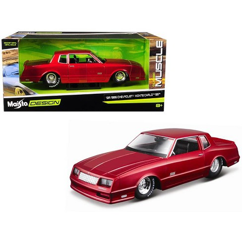 Ss Monte Carlo >> 1986 Chevrolet Monte Carlo Ss Candy Red Classic Muscle 1 24 Diecast Model Car By Maisto