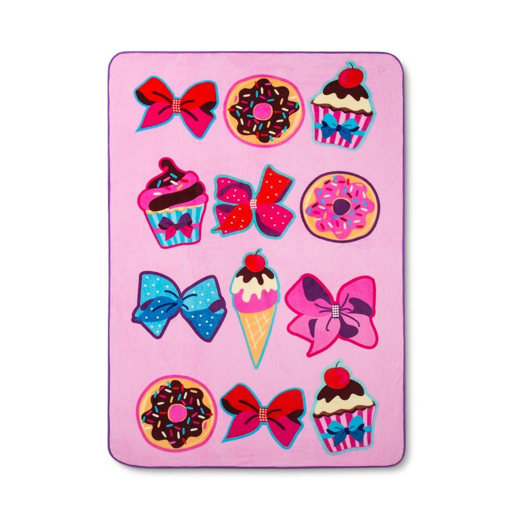 Image of JoJo Siwa Pink Bed Blankets (Twin)