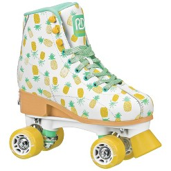 Roller Derby Candi Girl Lucy Adjustable Girls Roller Skates - White - Small (12-2)