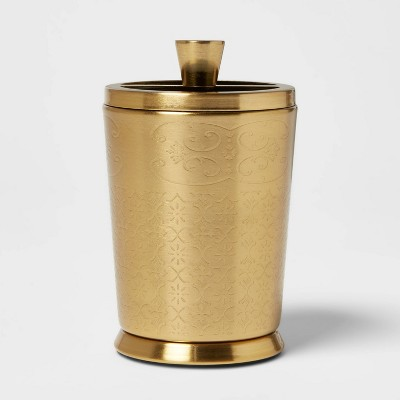 Gold Etched Metal Toothbrush Holder - Opalhouse™