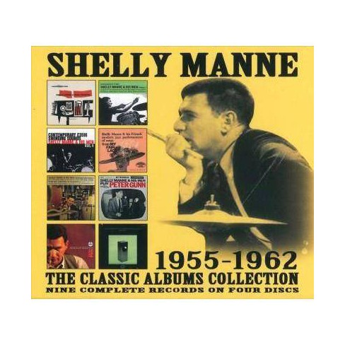 Shelly Manne - Classic Albums Collection: 1955-1962 (CD) - image 1 of 1