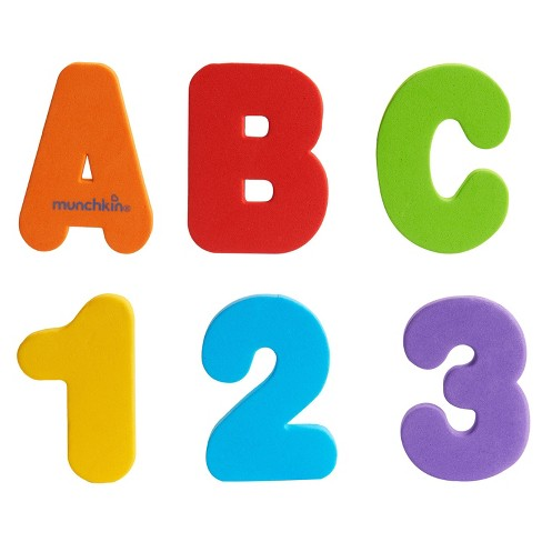 Munchkin Bath Letters and Numbers - 36ct Bath Toy Set - image 1 of 4