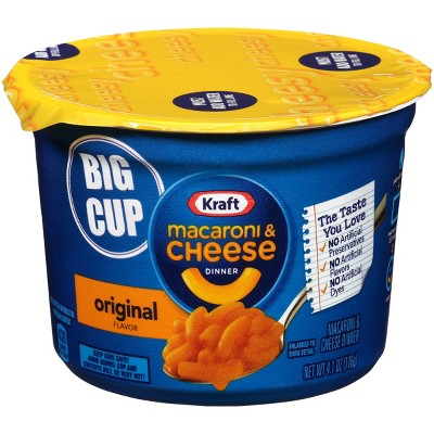Macaroni and Cheese Calories and Carbs Listed by Brand and Preparation