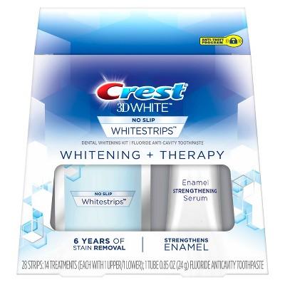 Crest 3d White Whitestrips Whitening Therapy Teeth Whitening Kit