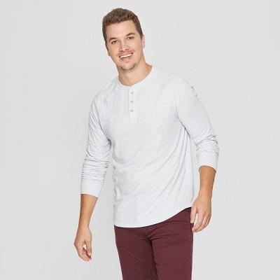 2b44b5028b Men s Regular Fit Long Sleeve Jersey Henley Shirt - Goodfellow ...