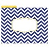 "Barker Creek File Folders, Multi Design, 9.5"" x 12"", 12ct - Chevron Nautical - image 3 of 4"