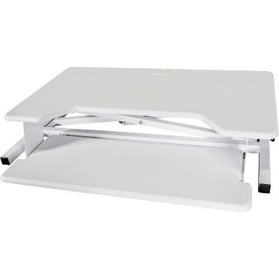"""Kantek Sit-To-Stand Desk Riser 35""""x24""""x5-1/4"""" White STS900W"""