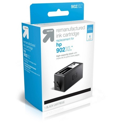 Remanufactured High Yield Ink Cartridges - Compatible with HP 902XL Ink Series Printers - up & up™