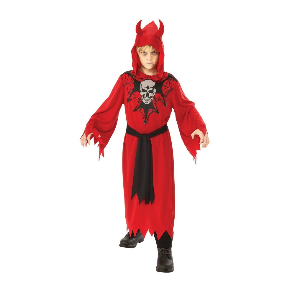 Boys' Skeleton Robe Halloween Costume S - Rubie's, Multicolored