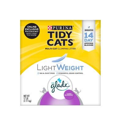 Tidy Cats Clump Lightweight Clean Blossom Cat Litter