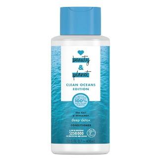 Love Beauty And Planet Clean Ocean Sea Salt & Bergamont Conditioner - 13.5 Fl Oz : Target