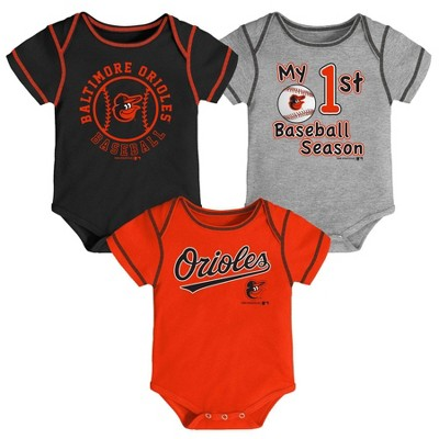 MLB Baltimore Orioles Boys' Bodysuit - 3-6M