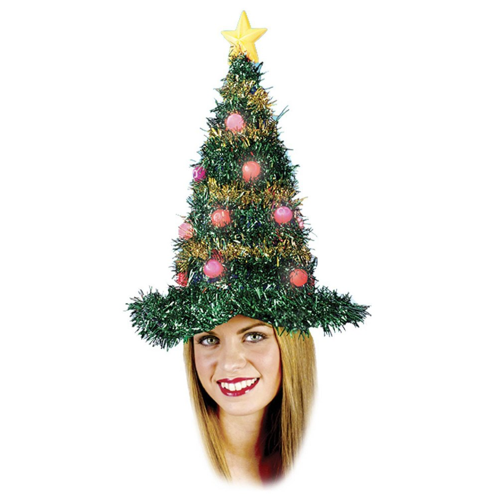 Image of Christmas Tree Light Up Hat