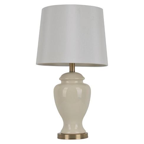 Ceramic Table Lamp 24 H Cream White Target