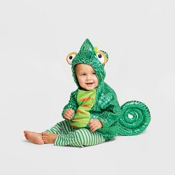 Baby Plush Chameleon Halloween Costume Vest - Hyde & EEK! Boutique™