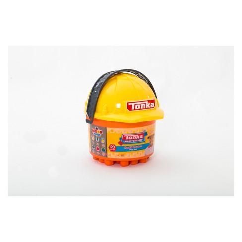 Tonka 20pc Hard Hat Bucket Fire & Construction with Blocks - image 1 of 3